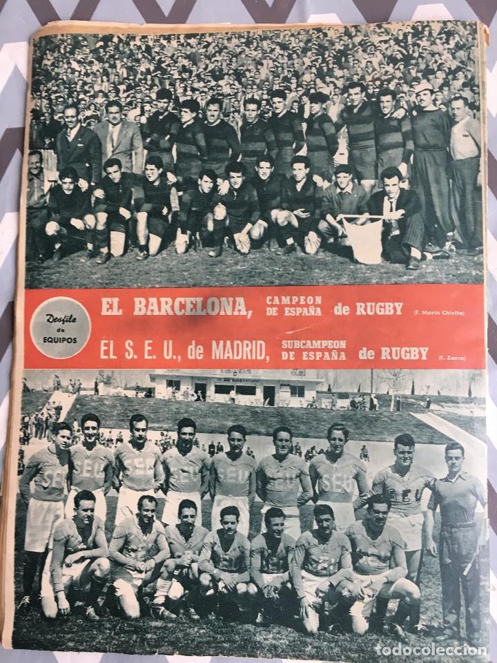 Coleccionismo deportivo: MARCA (24-4-51) ATLETICO MADRID CAMPEON LIGA EN SEVILLA POSTER RUGBY BARCELONA SEU DE MADRID - Foto 10 - 123862363