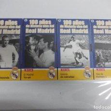 Coleccionismo deportivo: - 100 AÑOS DE HISTORIA VIVA DEL REAL MADRID DE FUTBOL . Lote 124011075