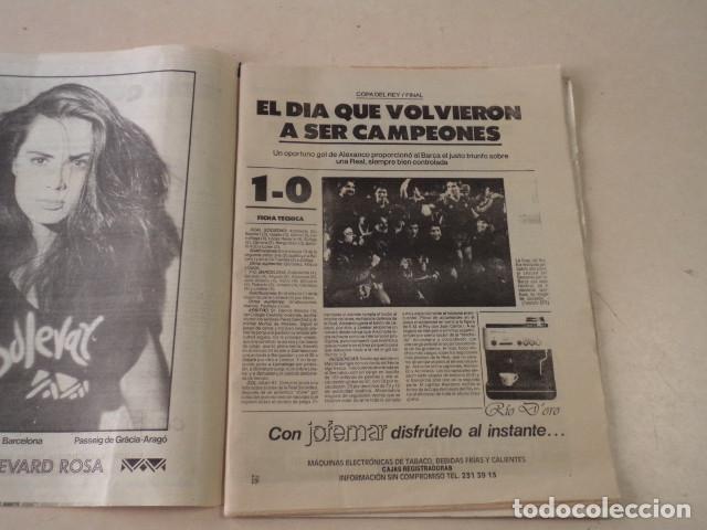 Coleccionismo deportivo: EL MUNDO DEPORTIVO Nº 20.378 - BARÇA CAMPEÓN DE COPA - 31 DE MARZO DE 1988 - Foto 2 - 124025951