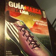 Coleccionismo deportivo: GUIA MARCA DE LA LIGA 2011. Lote 124091303