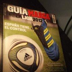 Coleccionismo deportivo: GUIA MARCA DE LA LIGA 2012. Lote 124091351