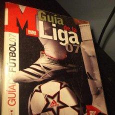Coleccionismo deportivo: GUIA MARCA DE LA LIGA 2007. Lote 124091411