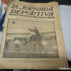 Coleccionismo deportivo: PERIODICO LA JORNADA DEPORTIVA 10 NOVIEMBRE DE 1922. Lote 206825773