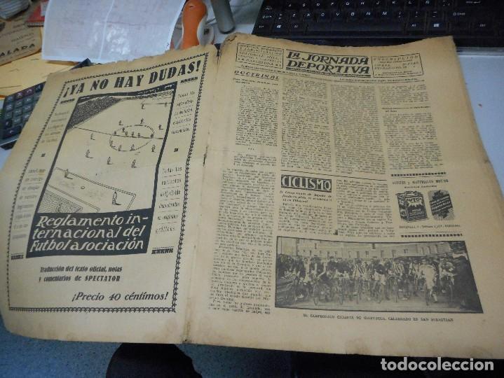 Coleccionismo deportivo: periodico la jornada deportiva 10 noviembre de 1922 - Foto 2 - 206825773