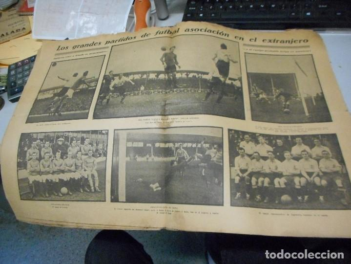 Coleccionismo deportivo: periodico la jornada deportiva 10 noviembre de 1922 - Foto 3 - 206825773