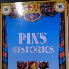 Coleccionismo deportivo: PINS HISTORICS. Lote 124238059