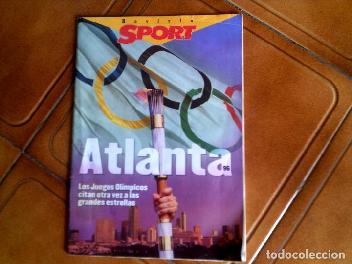 EXTRA DE SPORT ATLANTA 96 (Coleccionismo Deportivo - Revistas y Periódicos - Sport)