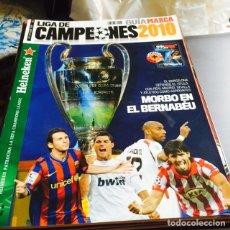 Coleccionismo deportivo: LOTE DE 5 GUÍAS DE AS Y MARCA. Lote 124267000