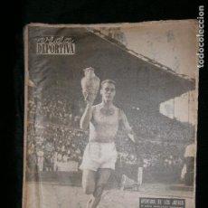 Coleccionismo deportivo: F1 VIDA DEPORTIVA AÑO 1955 APERTURA Y PRIMERAS COMPETICIONES DE LOS II JUEGOS MEDITERRANEOS. Lote 124394007