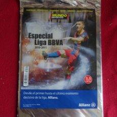 Coleccionismo deportivo: MUNDO DEPORTIVO ESPECIAL LIGA 2010-2011 PRECINTADO DE KIOSKO. Lote 125032823