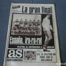 Coleccionismo deportivo: PERIODICO VINTAGE, AS. Lote 125040915