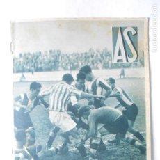 Coleccionismo deportivo: AS Nº 180 DEL 2 DICIEMBRE 1935 - PORTADA BETIS / HERCUES - 500 MILLAS INDIANAPOLIS - 24 PÁG.- FOTOS. Lote 125068695