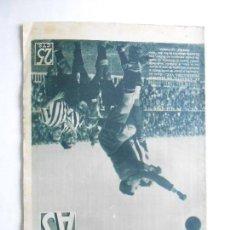 Coleccionismo deportivo: AS Nº 196 DEL 23 MARZO 1936 - PORTADA HERCULES / AT. MADRID - MADRID / BARCELONA - 24 PÁG.- FOTOS . Lote 125070327