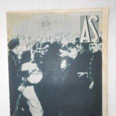 Coleccionismo deportivo: REVISTA AS Nº 197 DEL 30 MARZO 1936 - AT. MADRID 3 / ESPAÑOL 2 - 24 PÁG.- FOTOS . Lote 125071011