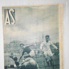 Coleccionismo deportivo: REVISTA AS Nº 194 DEL 9 MARZO 1936 - PORTADA R. MADRID 3 / SEVILLA 3 - 24 PÁG.- FOTOS . Lote 125071571