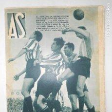 Coleccionismo deportivo: REVISTA AS Nº 193 DEL 2 MARZO 1936 - PORTADA ESPAÑOL 2 / AT. BILBAO 0 - 24 PÁG.- FOTOS . Lote 125092483