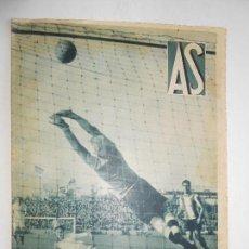 Coleccionismo deportivo: REVISTA AS Nº 189 DEL 3 FEBRERO 1936 - PORTADA R. MADRID 5 / HERCULES 1 - 24 PÁG.- FOTOS . Lote 125094475