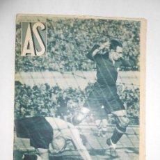 Coleccionismo deportivo: REVISTA AS Nº 192 DEL 24 FEBRERO 1936 - PORTADA ESPAÑA 1 / ALEMANIA 2 - 24 PÁG.- FOTOS . Lote 125095675