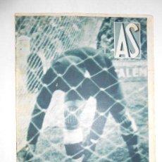 Coleccionismo deportivo: AS Nº 190 DEL 10 FEBRERO 1936 - ESPAÑOL 3 / R. MADRID 0 - AT. MADRID 0 / BARCELONA 3 - FOTOS . Lote 125107591