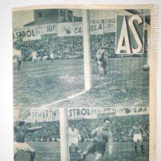 Coleccionismo deportivo: REVISTA AS Nº 184 DEL 30 DICIEMBRE 1935 - PORTADA R. MADRID 5 / OVIEDO 4 - 24 PÁG. - FOTOS . Lote 125108299