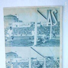 Coleccionismo deportivo: AS Nº 176 DEL 4 NOVIEMBRE1935 - PORTADA R. MADRID CAMPEON SUPERREGIONAL - 24 PÁG. - FOTOS . Lote 125119327