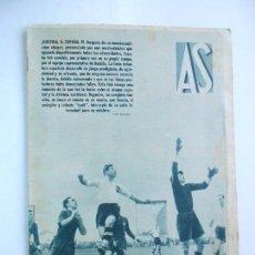 Coleccionismo deportivo: AS Nº 187 DEL 20 ENERO 1936 - PORTADA ESPAÑA 4 / AUSTRIA 5 - 24 PÁG. - FOTOS . Lote 125119919