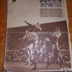 Coleccionismo deportivo: VIDA DEPORTIVA Nº 314. SEPTIEMBRE 1951. ACOSO ANTE LA META DE CARMELO. Lote 125147907