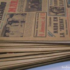 Coleccionismo deportivo: ESPECIAL DIARIO MARCA MUNDIAL FUTBOL ESPAÑA 82 TODOS LOS DIARIOS DEL MUNDIAL 82 IMPECABLES VER FOTOS. Lote 125221687