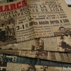 Coleccionismo deportivo: DIARIO MARCA. LOTE SUPLEMENTO GRÁFICO MARTES Nª 19,20,21,22,23.24,25.. BILBAO CAMPEÓN DE LIGA.. Lote 125229207