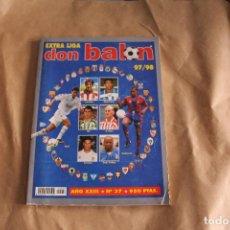 Coleccionismo deportivo: EXTRA LIGA DON BALÓN 97/87. Lote 125316419