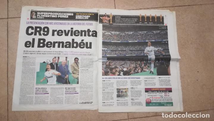 Coleccionismo deportivo: DIARIO MARCA 7 DE JULIO DE 2009 - PRESENTACION DE CRISTIANO RONALDO · 55 PÁGINAS - Foto 2 - 125397779