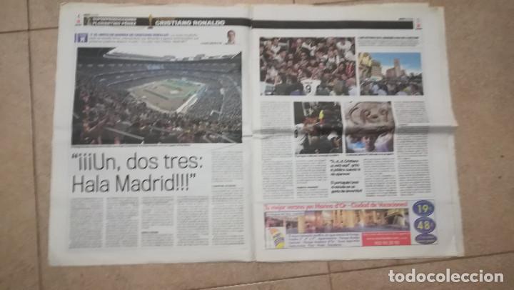 Coleccionismo deportivo: DIARIO MARCA 7 DE JULIO DE 2009 - PRESENTACION DE CRISTIANO RONALDO · 55 PÁGINAS - Foto 3 - 125397779