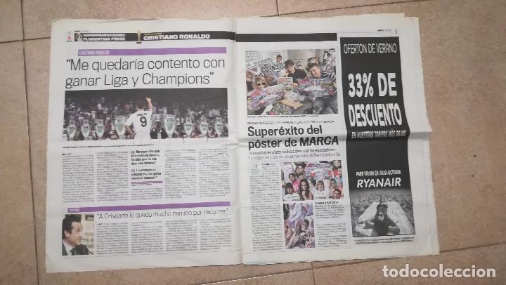 Coleccionismo deportivo: DIARIO MARCA 7 DE JULIO DE 2009 - PRESENTACION DE CRISTIANO RONALDO · 55 PÁGINAS - Foto 4 - 125397779