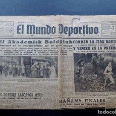 Coleccionismo deportivo: EL MUNDO DEPORTIVO / 25 DICIEMBRE 1948 / FUTBOL EN CAMPO DE LAS CORTS - BARCELONA. Lote 125411227