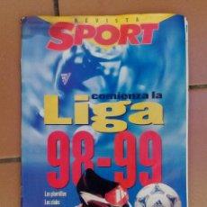 Coleccionismo deportivo: REVISTA SPORT - LIGA 98-99. Lote 126009719