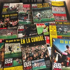 Coleccionismo deportivo: LOTE DE 53 REVISTAS AS COLOR. Lote 130791327
