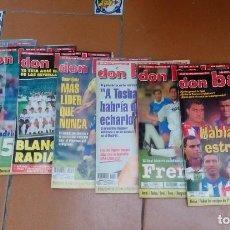 Coleccionismo deportivo: LOTE 7 REVISTAS DON BALON . Lote 126260699