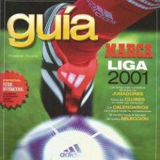 Collectionnisme sportif: GUIA MARCA LIGA 2001. Lote 126460263