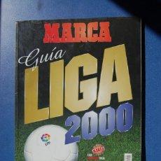 Coleccionismo deportivo: GUIA LIGA MARCA 2000. Lote 126460363