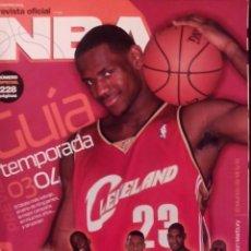 Coleccionismo deportivo: REVISTA OFICIAL NBA 2003 2004. NÚMERO ESPECIAL. Lote 126461399