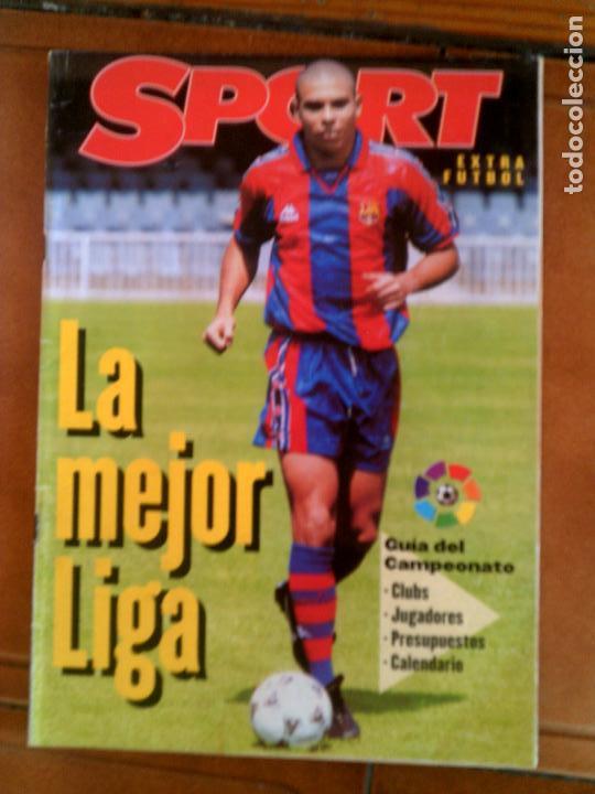 REVISTA LA MEJOR LIGA DE SPORT EXTRA FUTBOL ,96,97 (Coleccionismo Deportivo - Revistas y Periódicos - Sport)