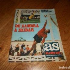 Coleccionismo deportivo: REVISTA AS FÚTBOL Nº EXTRAORDINARIO ENERO 1971 DE ZAMORA A IRIBAR 50 AÑOS EQUIPO NACIONAL PERFECTO. Lote 126960967