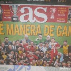 Coleccionismo deportivo: AS CAMPEÓN LIGA ATLÉTICO DE MADRID 2013/14 - CELEBRACIÓN LIGA. Lote 127116667