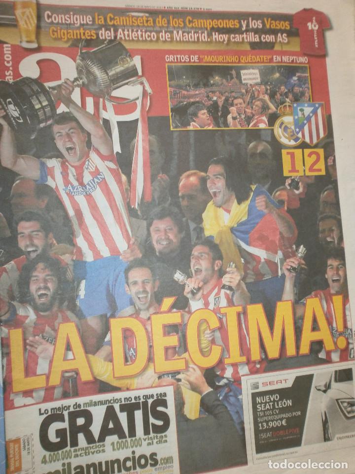 Coleccionismo deportivo: As Campeón Copa Atlético de Madrid 2013/14 - Celebración Copa - Foto 2 - 127116939