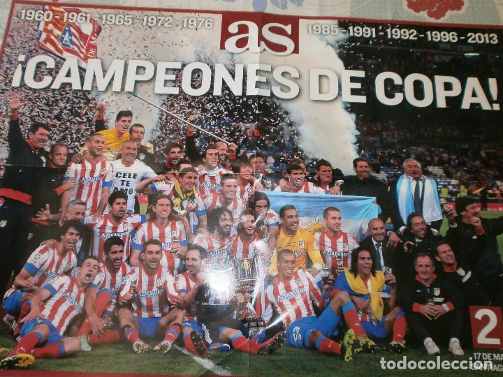 Coleccionismo deportivo: As Campeón Copa Atlético de Madrid 2013/14 - Celebración Copa - Foto 3 - 127116939