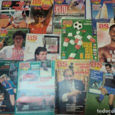 Coleccionismo deportivo: LOTE 23 REVISTAS AS COLOR . Lote 127442427