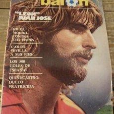 Coleccionismo deportivo: REVISTA DON BALON Nº 369 DEL 2 AL 8 DE NOVIEMBRE DE 1982 POSTER CENTRAL SELECCION DE ESPAÑA. Lote 127487339