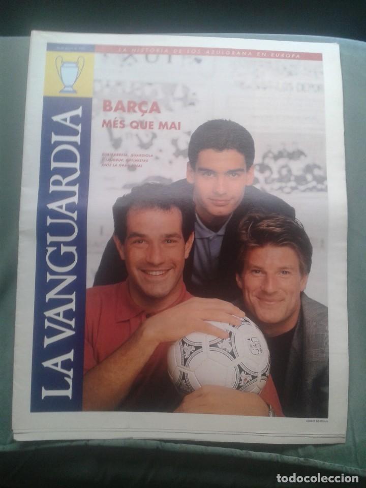 BARÇA WEMBLEY 1992 EXTRA LA VANGUARDIA (Coleccionismo Deportivo - Revistas y Periódicos - Mundo Deportivo)