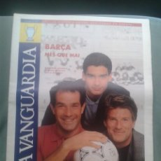 Coleccionismo deportivo: BARÇA WEMBLEY 1992 EXTRA LA VANGUARDIA. Lote 127562311