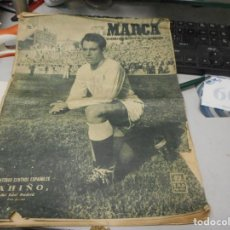 Coleccionismo deportivo: PERIODICO MARCA NUMERO 409 AÑO 1950 PAHIÑO REAL MADRID. Lote 127670967